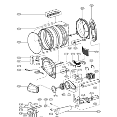 Kenmore 90 Series Dryer Parts Diagram Eaton 13 Speed Air Elite Schematic Component Best Site Wiring
