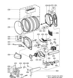 kenmore elite dryer parts model 79691029900 sears partsdirect whirlpool gas dryer electrical schematic sears dryer schematic [ 1700 x 2200 Pixel ]