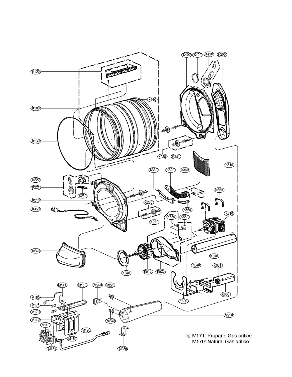 medium resolution of kenmore elite dryer parts model 79691029900 sears partsdirect whirlpool gas dryer electrical schematic sears dryer schematic