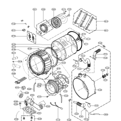 Kenmore Elite Parts Diagram Nitrous Wiring With Transbrake Drum And Tub Assembly List For Model