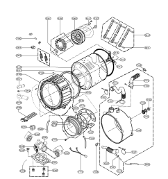 kenmore elite model 79642192900 residential washers genuine parts sears kenmore elite dryer parts wiring diagram for kenmore elite dryer front loader [ 1700 x 2200 Pixel ]
