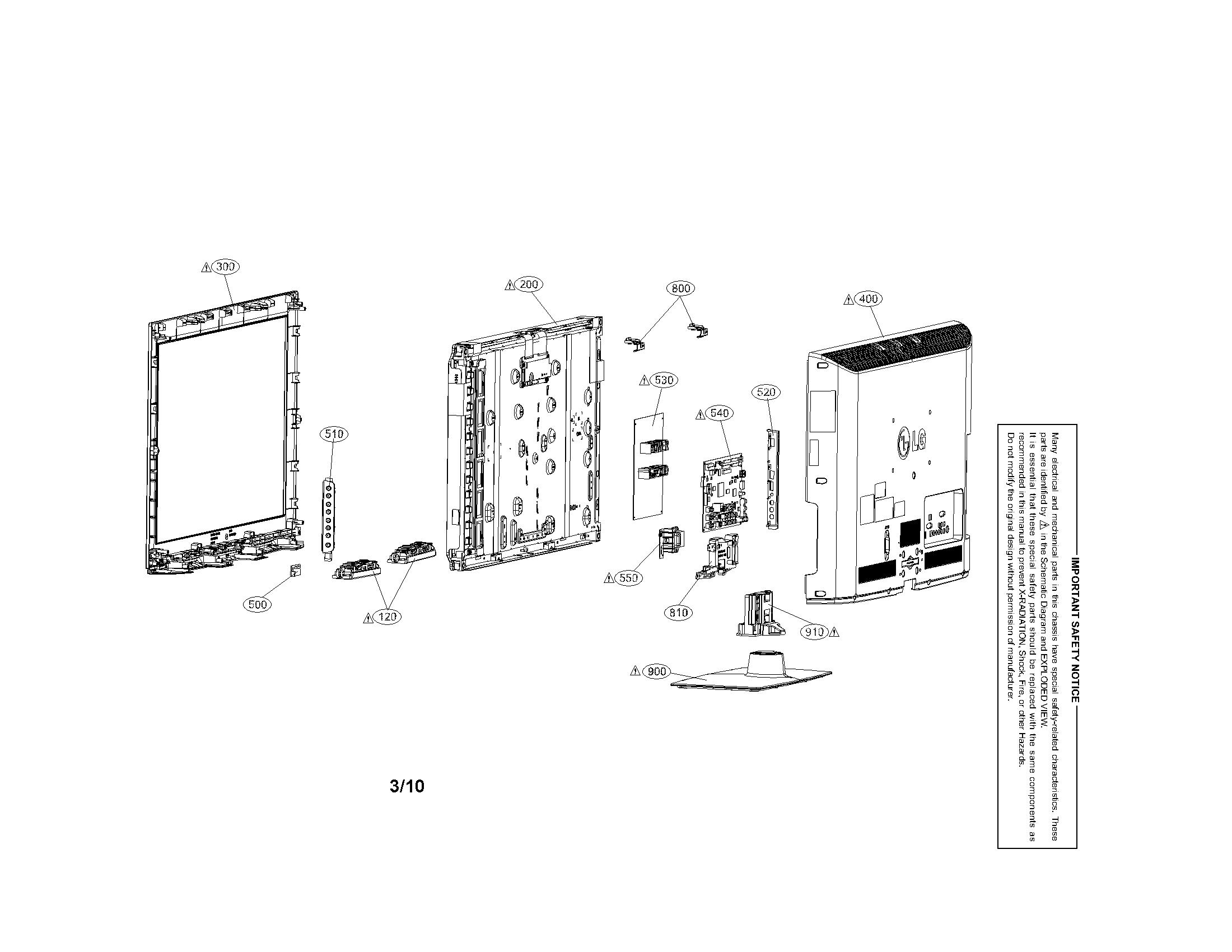 Speaker Exploded Parts Diagram, Speaker, Free Engine Image