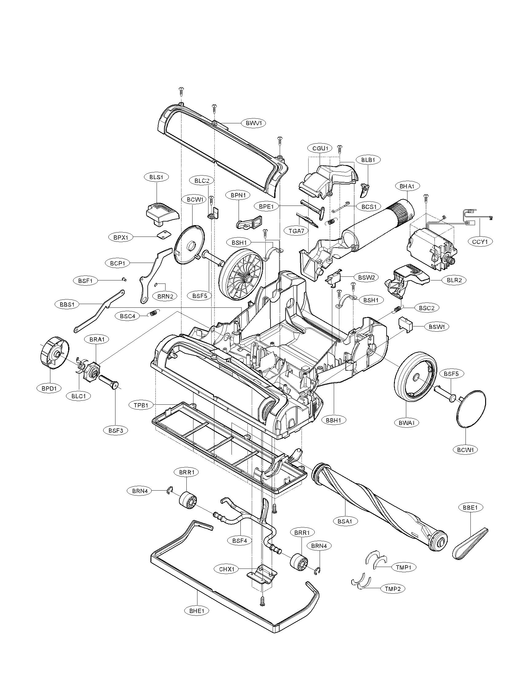 Vacuum Parts: Lg Vacuum Parts
