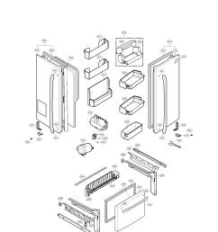 lg model lfx25976sw 00 bottom mount refrigerator genuine parts lfc22770st lg refrigerator diagrams lg refrigerator diagrams [ 1700 x 2200 Pixel ]
