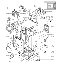 Lg Washing Machine Parts Diagram Space Model Wm2240cw Sears Partsdirect