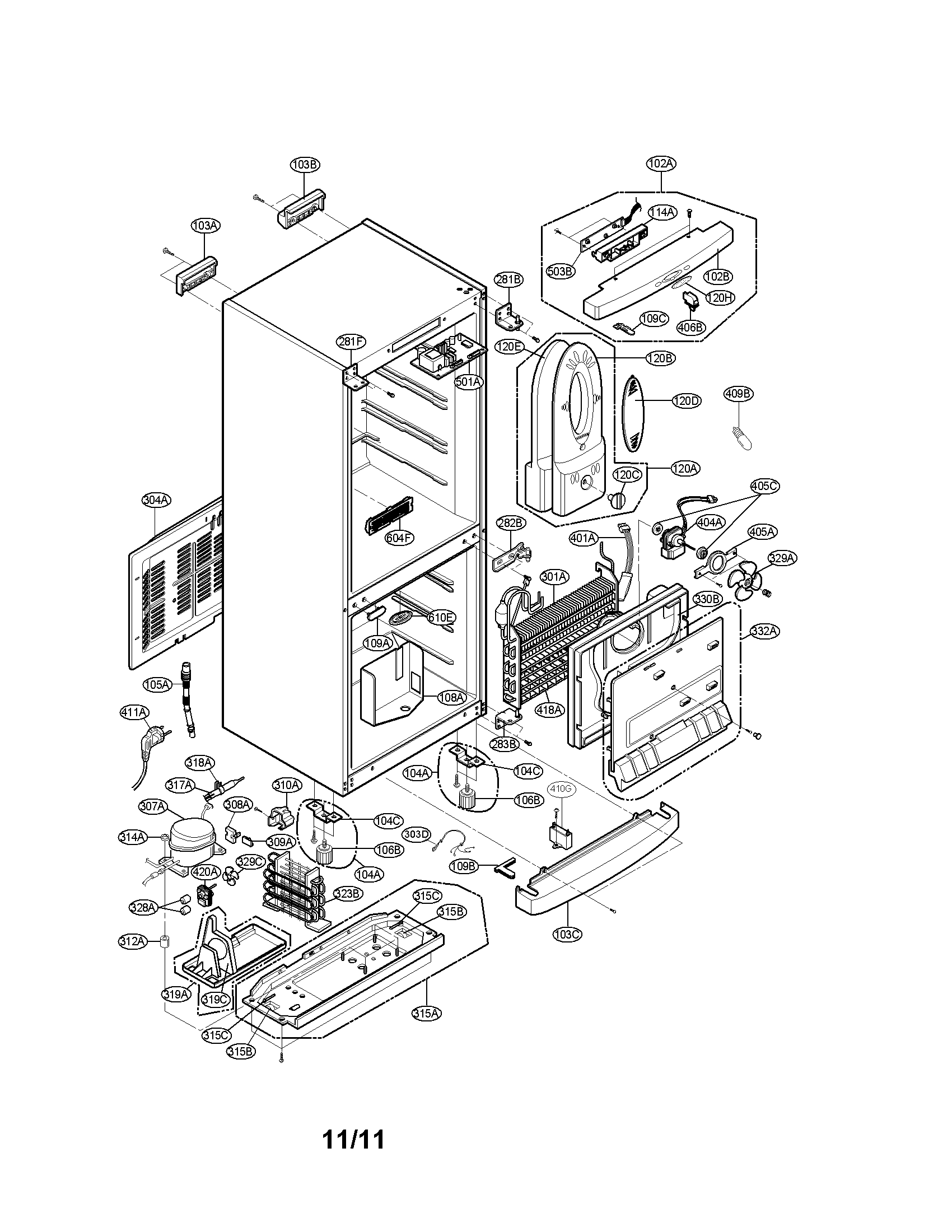 Wiring Diagram: 31 Lg Ice Maker Parts Diagram