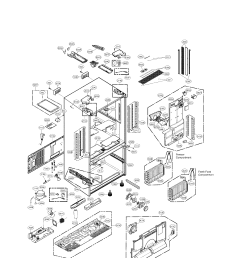 looking for lg model lfx33975st 01 bottom mount refrigerator repair lg refrigerator schematic diagram [ 1700 x 2200 Pixel ]