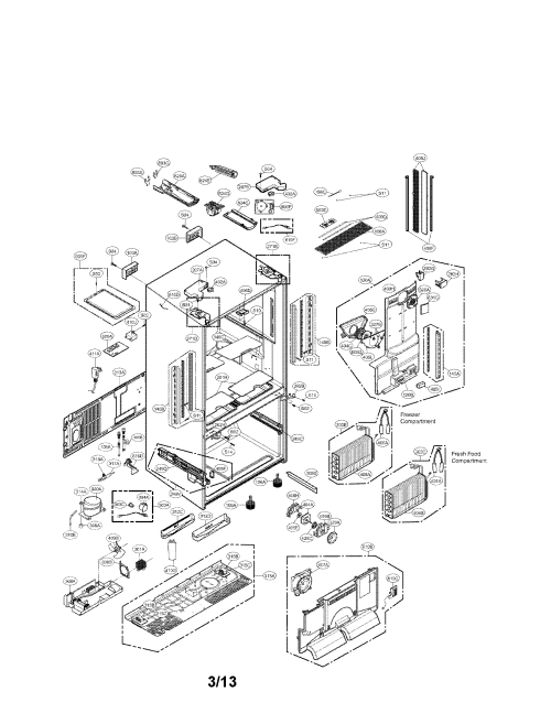 small resolution of looking for lg model lfx33975st 01 bottom mount refrigerator repair lg refrigerator schematic diagram