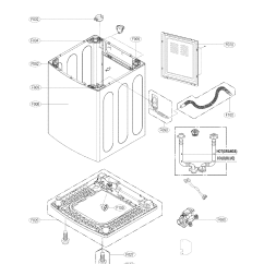 Lg Washing Machine Parts Diagram Flex A Lite Dual Fan Controller Wiring Case Assembly And List For Model