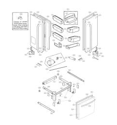 kenmore elite 79572053110 door parts diagram [ 2540 x 3307 Pixel ]