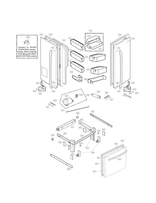 small resolution of kenmore elite 79572053110 door parts diagram