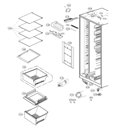 lg lsxs26386d 02 refrigerator compartment diagram [ 2327 x 2612 Pixel ]