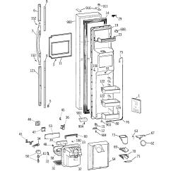 Ge Refrigerator Diagram Allen Bradley 4 Pin Connector Wiring D Series Parts Model Tpx24ppdaww Sears