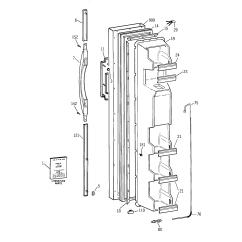 Ge Refrigerator Diagram 1995 Honda Civic Distributor Wiring B Series Parts Model Tfx20jrbkww Sears