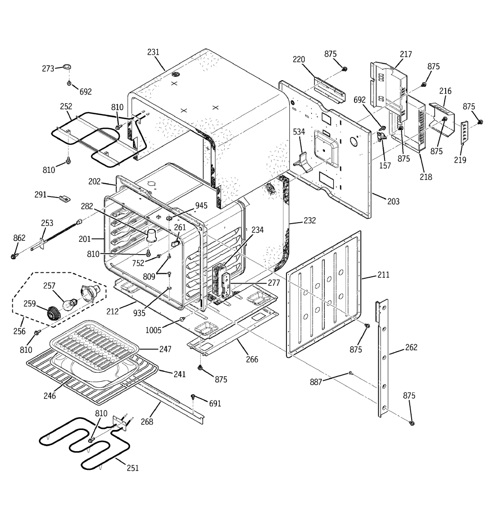 medium resolution of ge jkp15bd1bb body parts diagram