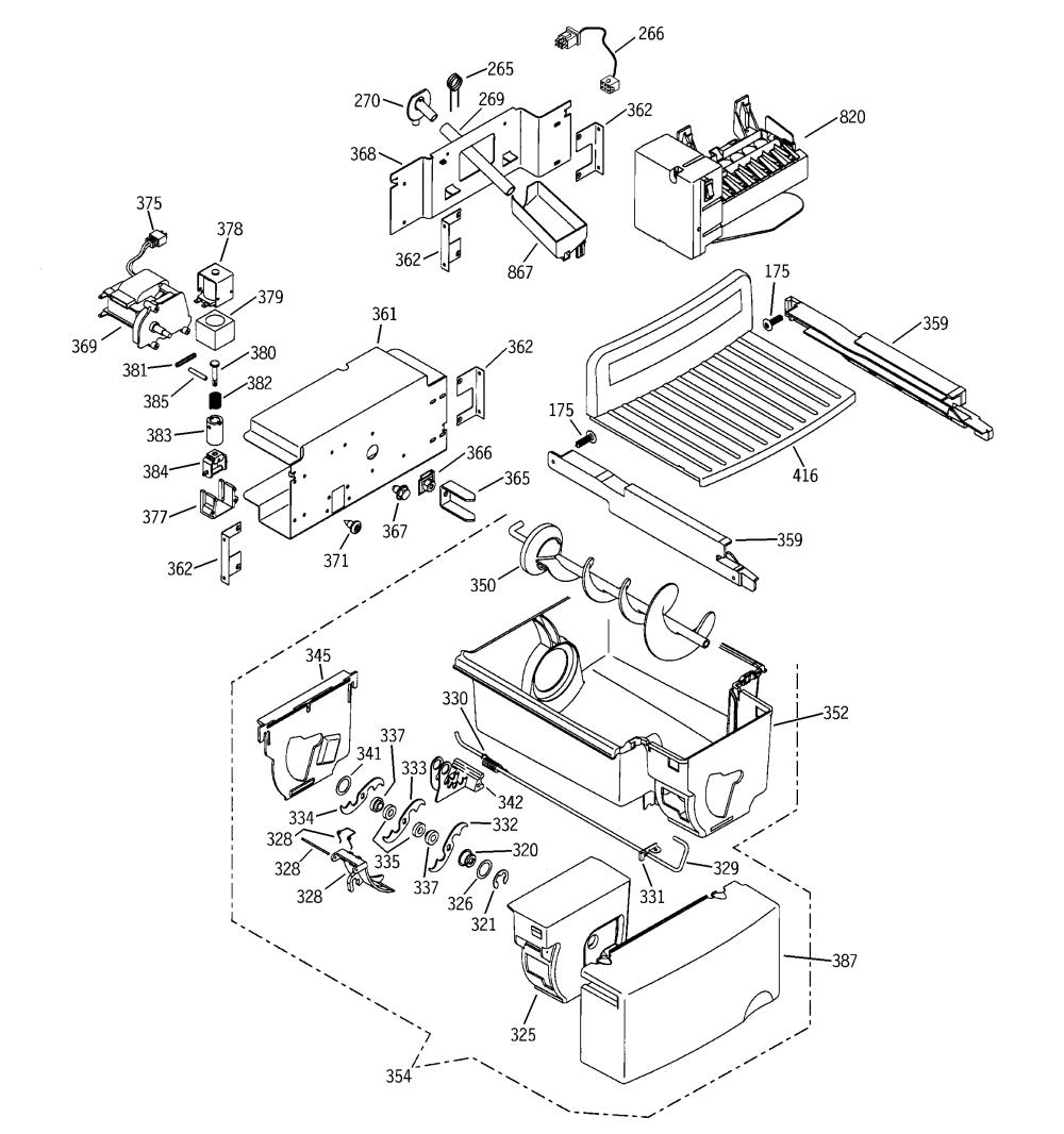 medium resolution of ge refrigerator ice maker wiring diagram wiring diagram third level kenmore refrigerator diagram ge icemaker diagram
