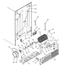 general electric freezer wiring diagram [ 2320 x 2475 Pixel ]