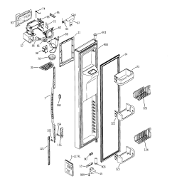 refrigerator wiring diagram ge pss25sgna bs [ 2320 x 2475 Pixel ]