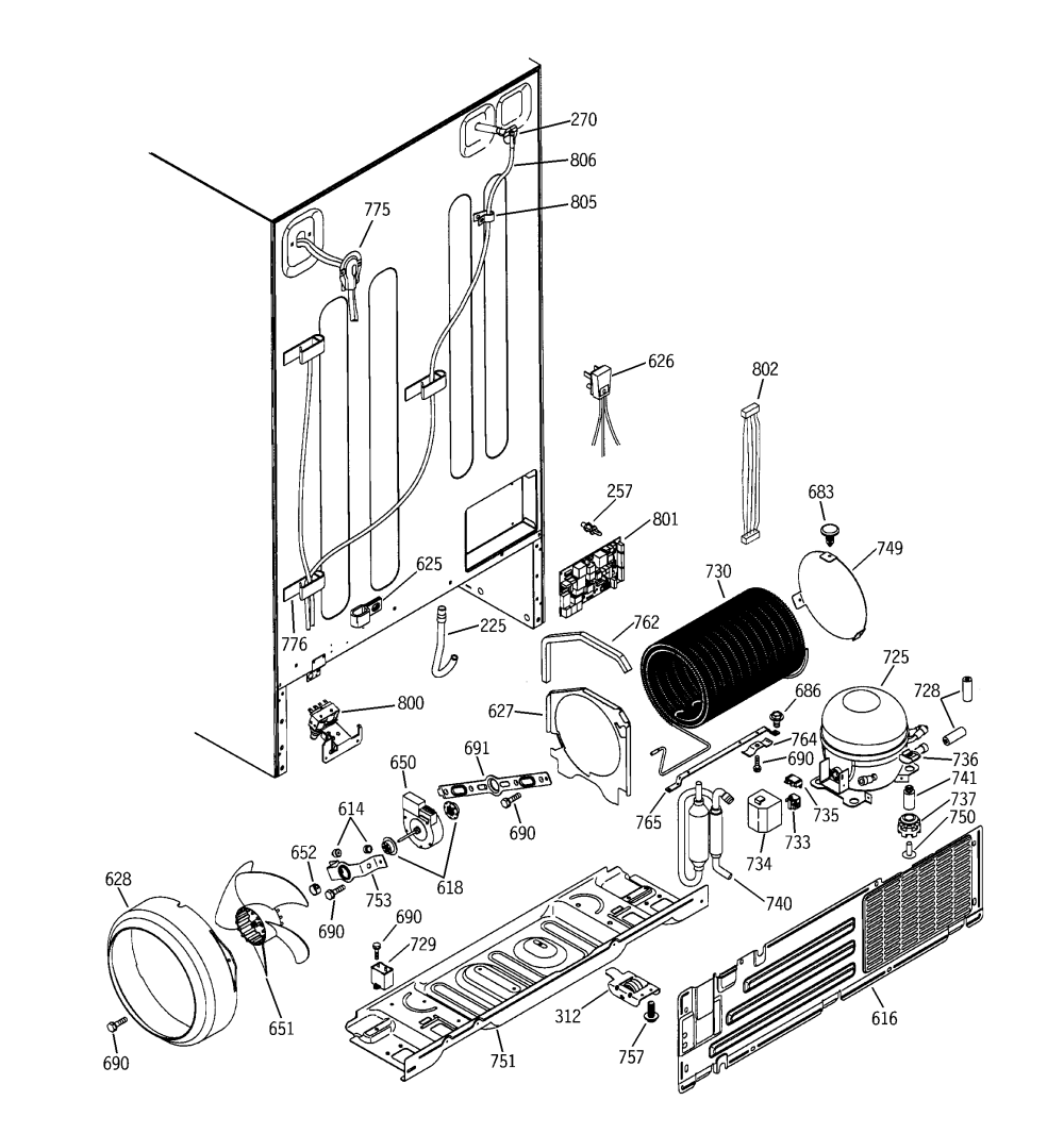 medium resolution of general electric refrigerator hotpoint refrigerator wiring diagram kenmore refrigerator parts diagram maytag refrigerator parts diagram general