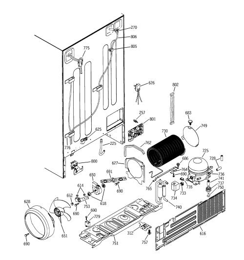 small resolution of general electric refrigerator hotpoint refrigerator wiring diagram kenmore refrigerator parts diagram maytag refrigerator parts diagram general