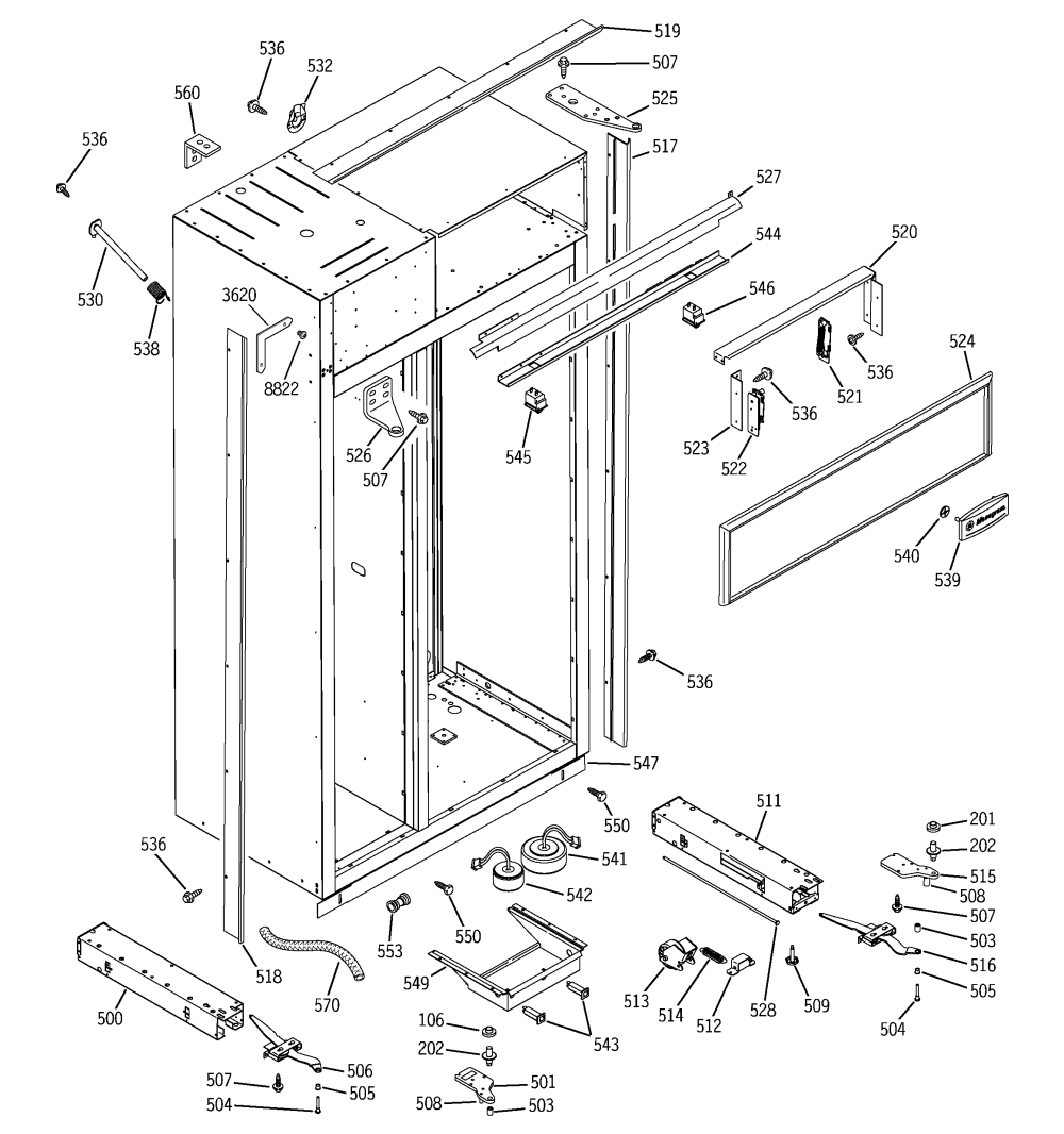 medium resolution of ge monitor refrigerator wiring diagram