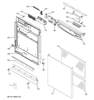 GE DISHWASHER Parts | Model EDW4060G00SS | Sears PartsDirect