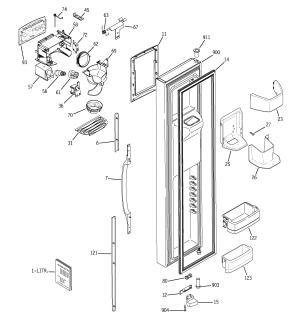 GE REFRIGERATOR P SERIES Parts | Model gss25lgpabb | Sears