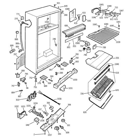 small resolution of ge ptc22mfmalcc cabinet diagram