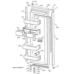 Ge Monogram Refrigerator Parts Diagram Bmw E46 Engine Model Zisb42dxa Side By Genuine