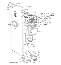 ge zisb42dxa freezer section diagram [ 2320 x 2475 Pixel ]
