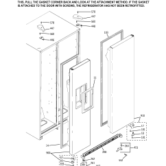 Ge Refrigerator Diagram Solar Battery Wiring Parts Model Gss25kgmcww Sears Partsdirect