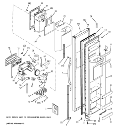 ge profile arctica wiring diagram wiring diagram user refrigerator service manual pwb parts diagram and ge [ 2320 x 2475 Pixel ]
