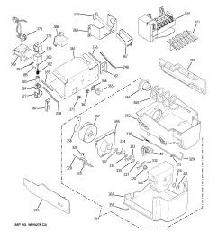 ge model gsc23lgqabb side by side refrigerator genuine parts ge water cooler with refrigerator ge refrigerator water dispenser wiring diagram [ 2320 x 2475 Pixel ]