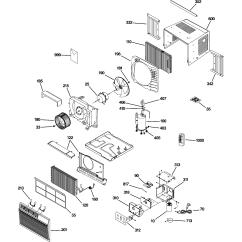 Air Conditioning Components Diagram Stanley Garage Door Opener Parts Ge Room Conditioner Model Asw06lcs1 Sears
