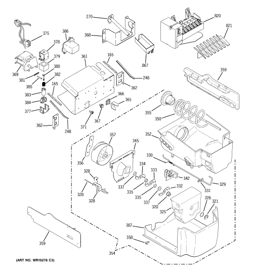 small resolution of looking for ge model dss25kgrbww side by side refrigerator repair ge fridge wiring diagram