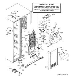 ge profile top freezer refrigerator wiring diagram [ 2320 x 2475 Pixel ]