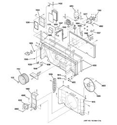ge model az28e15dabm1 air conditioner room genuine parts wiring diagram ge zoneline wiring  [ 2320 x 2475 Pixel ]