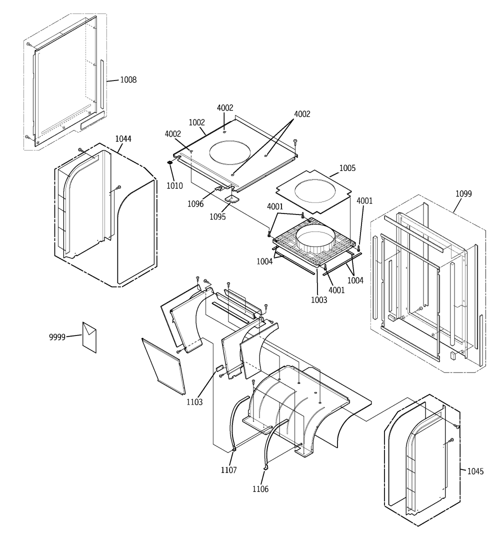 medium resolution of ge model az75e12dacm1 package units both units combined genuine parts