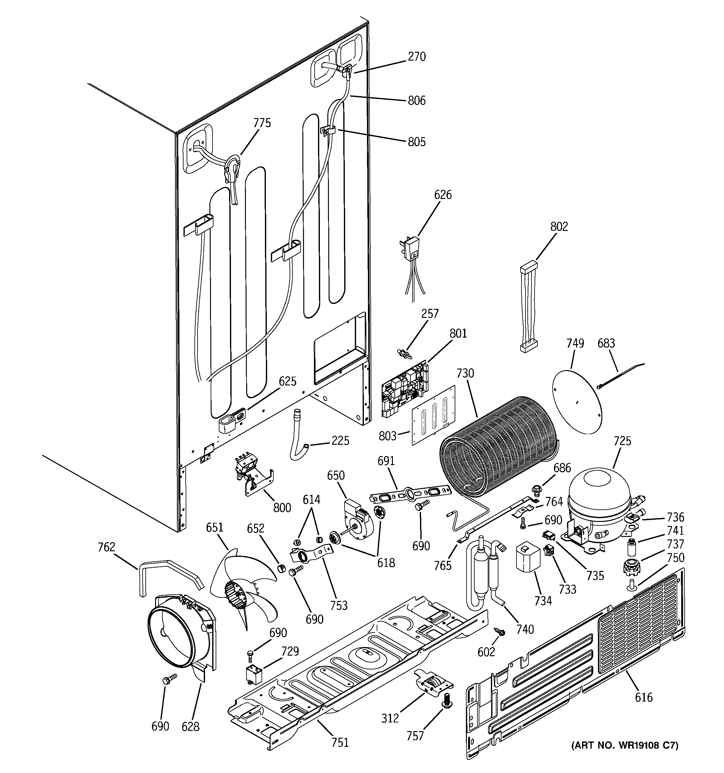 schematic fridge ge css25uswc