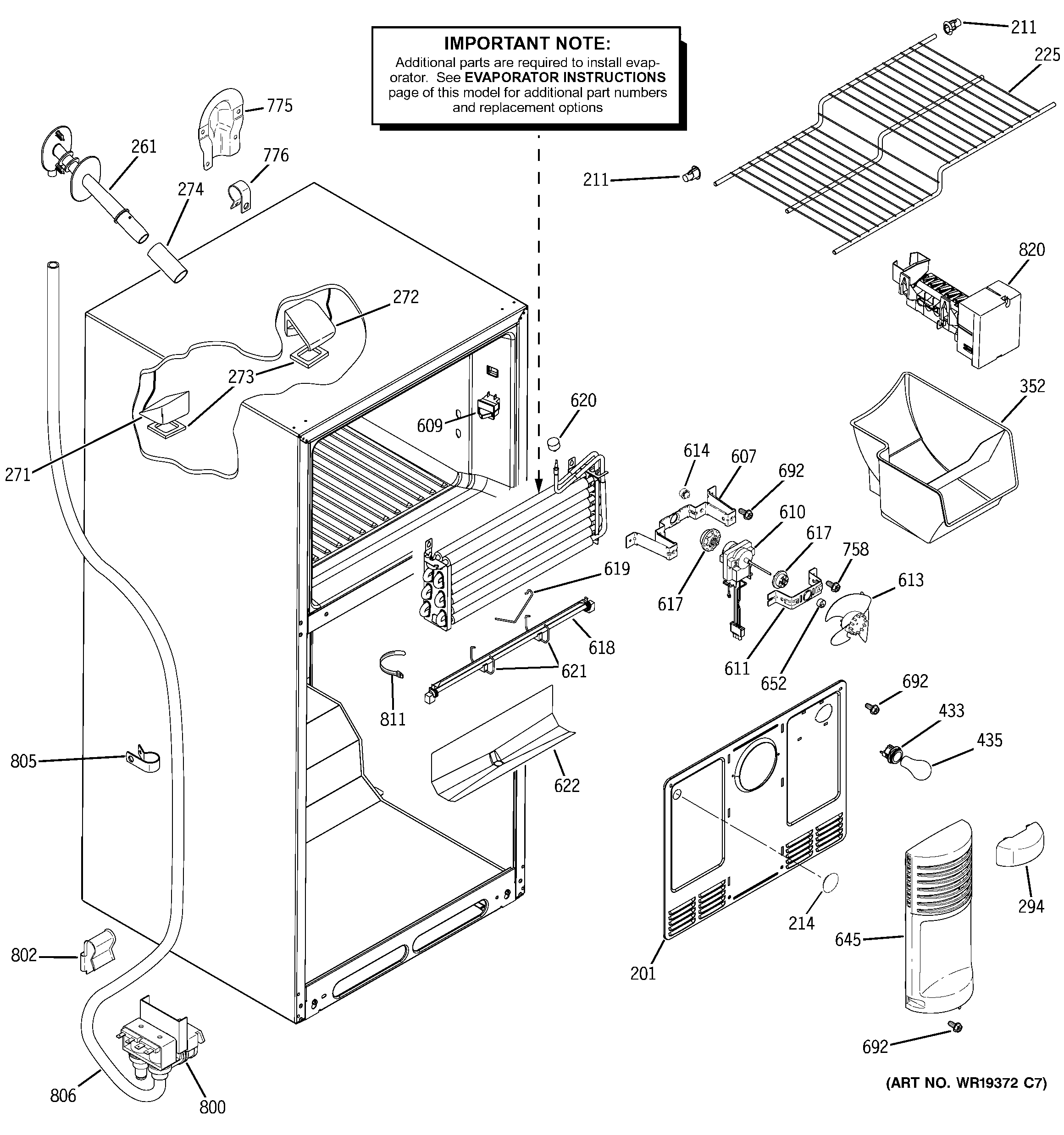 Refrigerator Parts: Ge Refrigerator Parts Diagrams