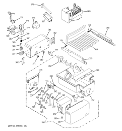 ge model gss25wstass side by side refrigerator genuine parts ge freezer parts diagram ge refrigerator wiring diagrams gss25wstss [ 2320 x 2475 Pixel ]