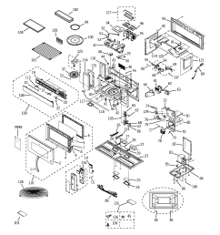 ge jvm3670sf03 microwave diagram [ 2320 x 2475 Pixel ]