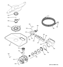 looking for ge model gld4260l00ss dishwasher repair u0026 replacement parts ge gld4260l00ss motor pump mechanism diagram [ 2320 x 2475 Pixel ]