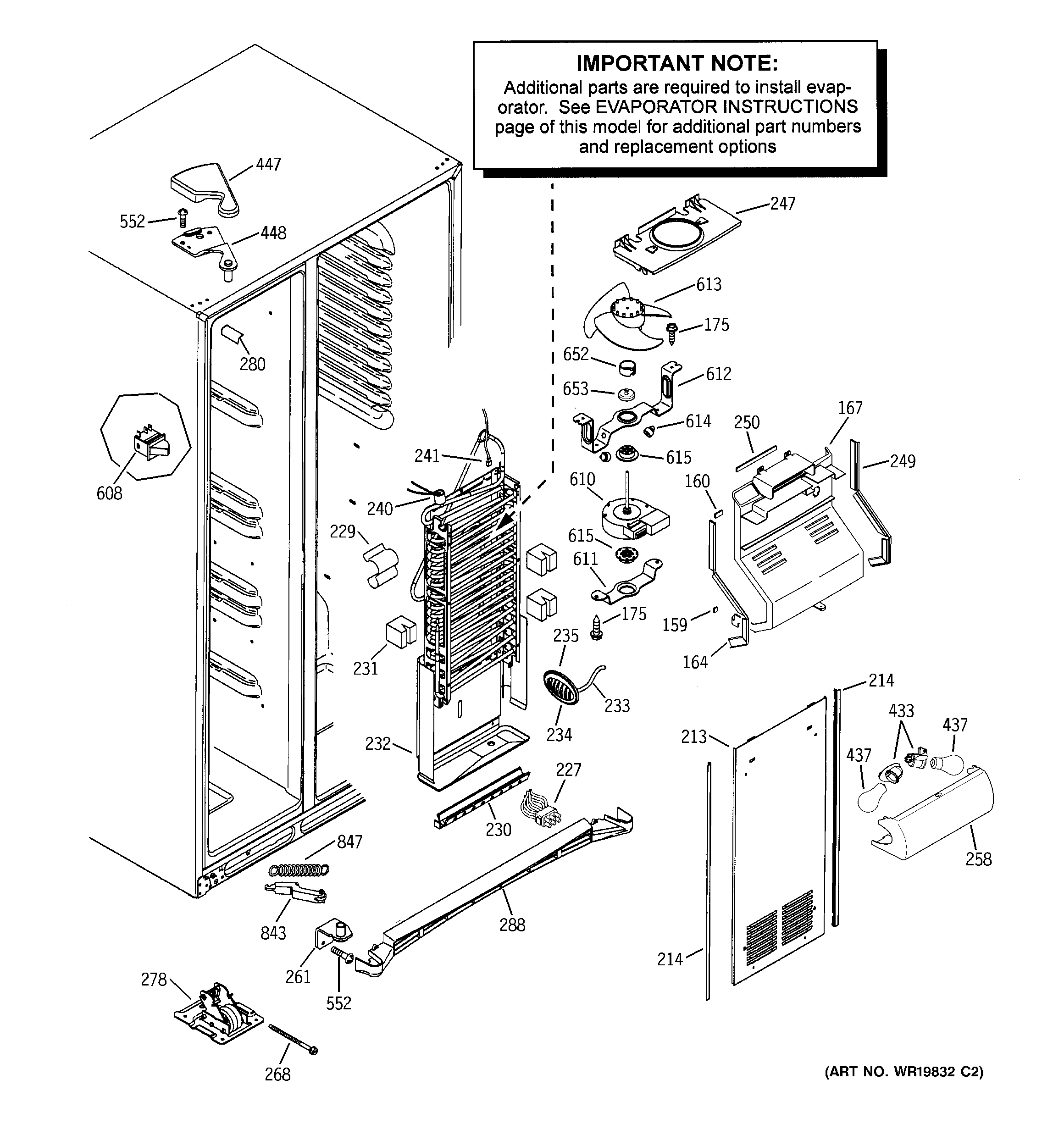small resolution of 1948 ge refrigerator schematic data wiring diagram ge sxs refrigerator wiring diagram