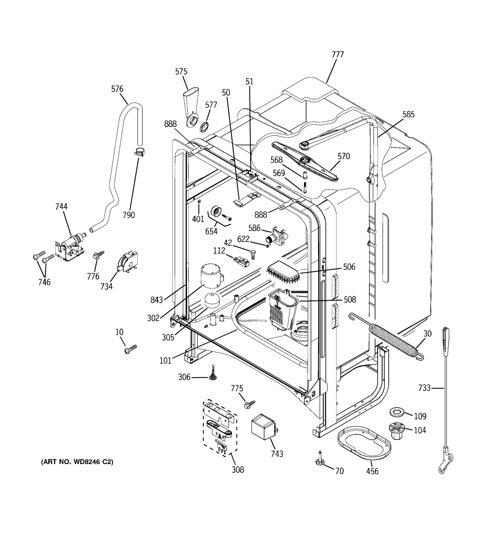 medium resolution of wiring diagram for hotpoint dishwasher