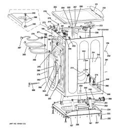 ge wbvh5100h1ww cabinet top panel diagram [ 2320 x 2475 Pixel ]