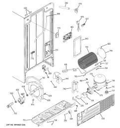 hotpoint hss25gftcww sealed system mother board diagram [ 2320 x 2475 Pixel ]