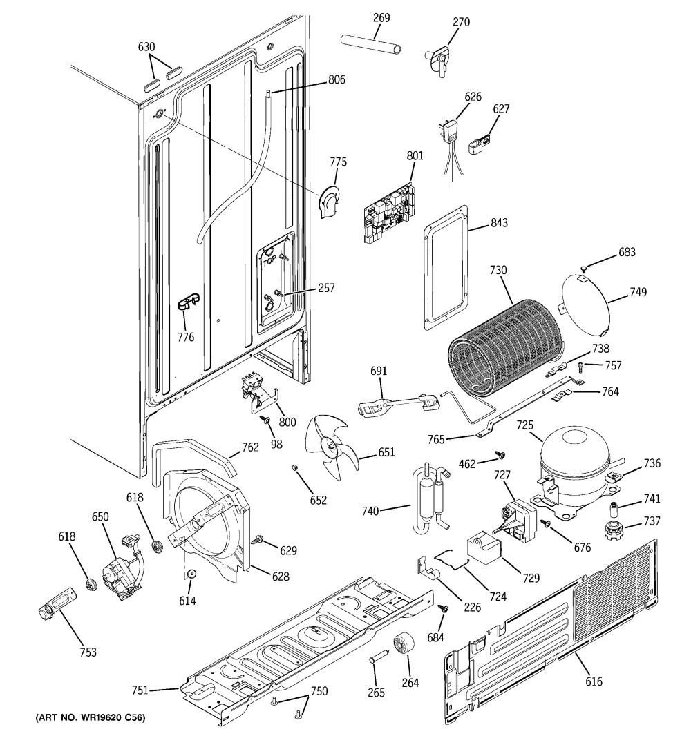 medium resolution of hotpoint hss25gftcww sealed system mother board diagram