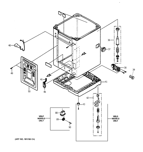 small resolution of dishwasher model numbers on general electric washing machine diagram
