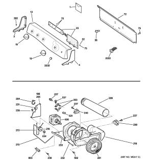 GE ELECTRIC DRYER Parts   Model DPSE810EG1WT   Sears